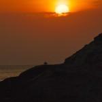堂ヶ島の夕日